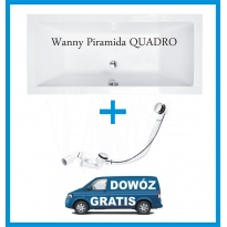 Wanna prostokątna Piramida Quadro 175